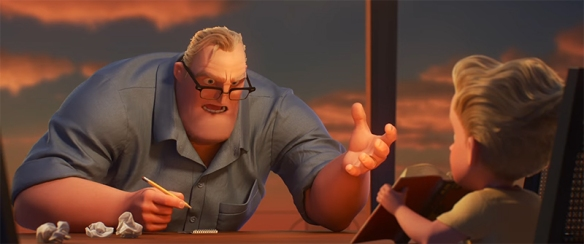 """""""Why would they change math"""" is literally a conversation I have had with my parents. Image Credit Disney/Pixar"""