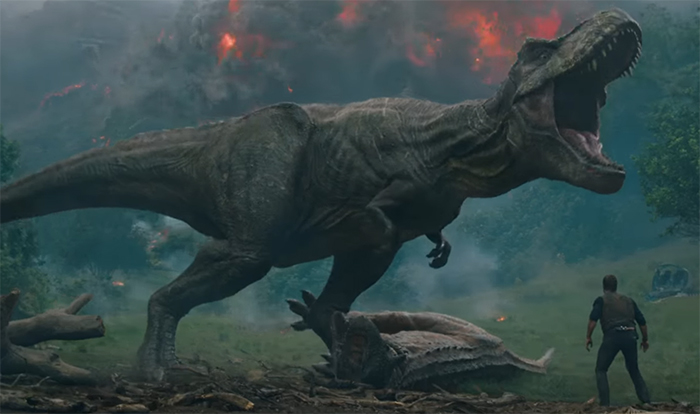 The dinosaurs are all lovingly rendered and created by ILM Image Credit: Universal/Legendary
