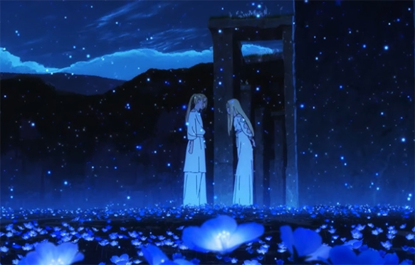 There are these moments of true beauty during Maquia. Image Credit: Madman