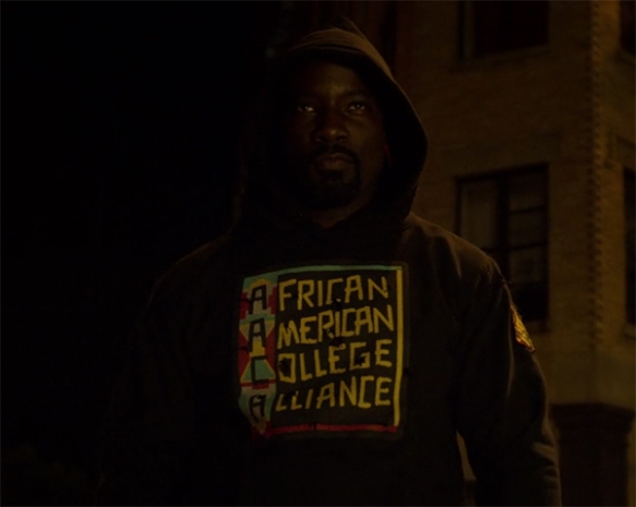 Luke Cage is back. Image Credit: Marvel/Netflix