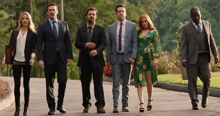Tag has a really strong cast line up that really make the silly seam that bit more believable. Image Credit: Warner Bros.