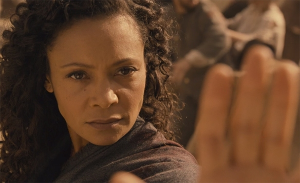 Even if it was not a happy ending goodness what an ending it was, simply brilliant Thandie Newton. Image Credit: HBO.