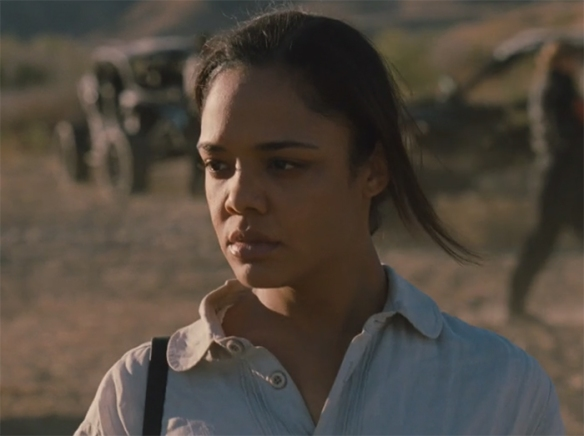 Tessa Thompson has to give so much range throughout the episode and she is amazing. Image Credit: HBO.