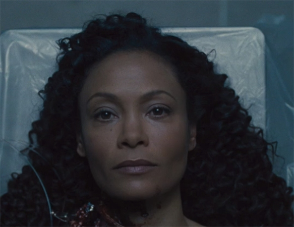 Hopefully keeping Maeve stuck to a medical bed will have some closure in next week's episode. Image Credit: HBO.