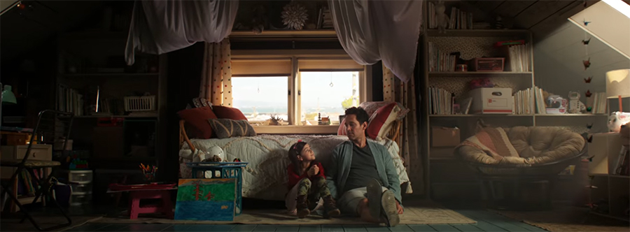 I liked that it was a smaller, more contained film, where the heart was all about family. Image credit Marvel/Disney.