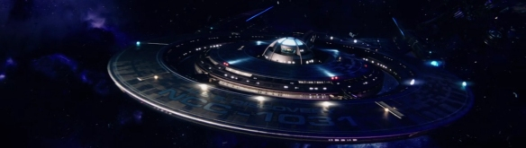 The USS Discovery being all majestic and what. Image Credit: CBS Studios.
