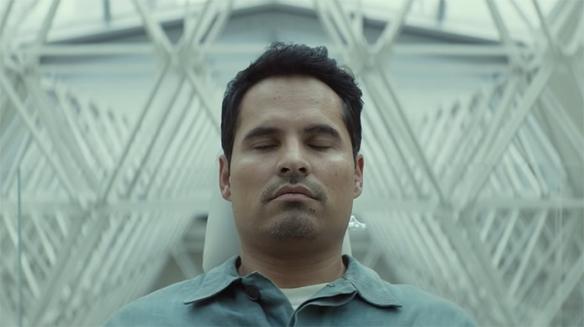 Michael Peña in deep thought.