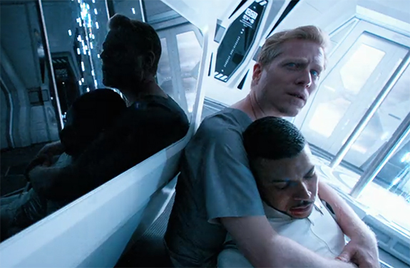 Stamets hugs the love of his life Culber now lost to the void. Image Credit: CBS Studios