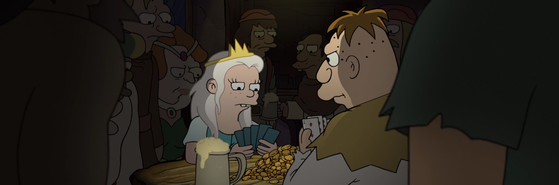 Disenchantment. Image Credit: Netflix/Rough Draft Studios