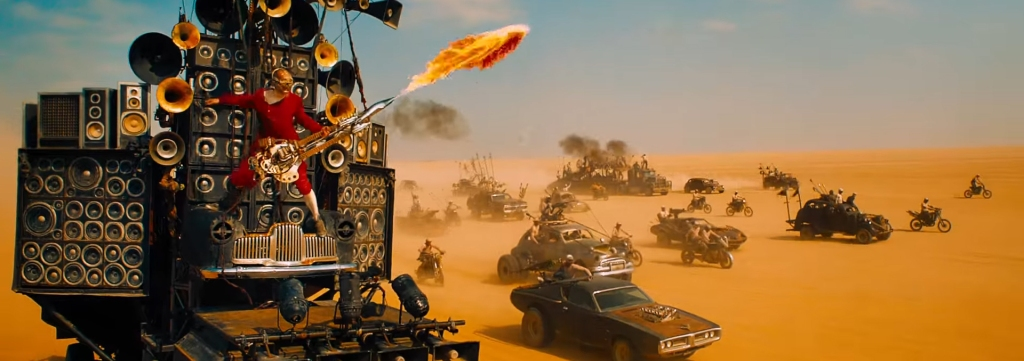 Mad Max Fury Road. Image Credit: Warner Brothers.