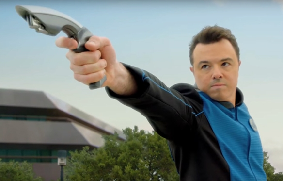 As both creator, writer and star, a lot of the show is built around Seth MacFarlane's character. Image Credit: 20th Century Fox & Fuzzy Door Productions.