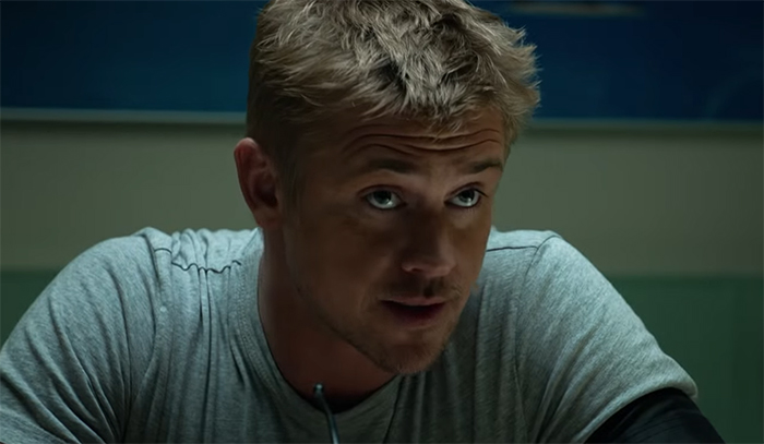 Boyd Holbrook can really hold his own as a lead. Image Credit: 20th Century Fox