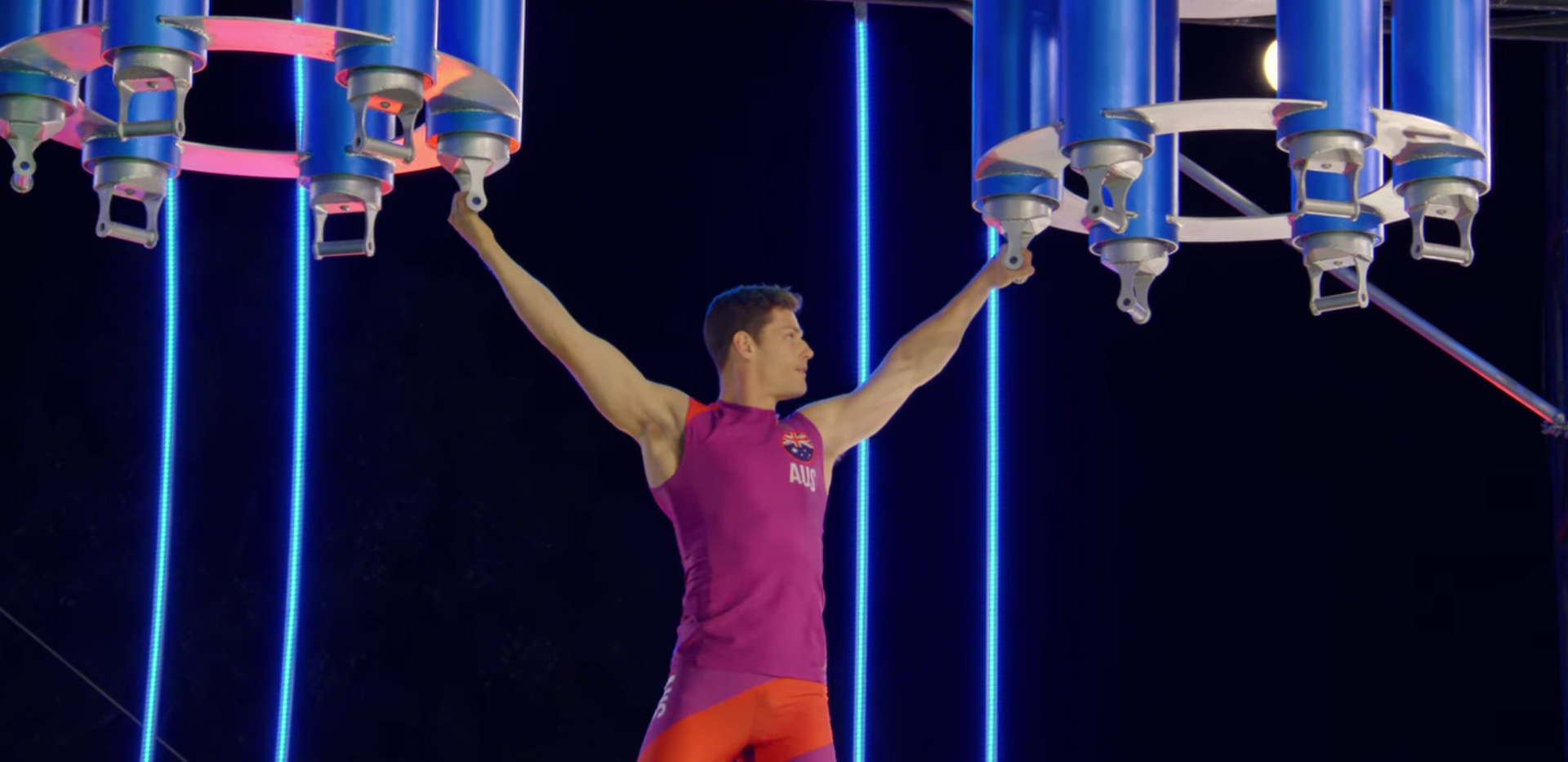 Ultimate Beastmaster Season 3 (Survival of the Fittest). Image Credit: Netflix