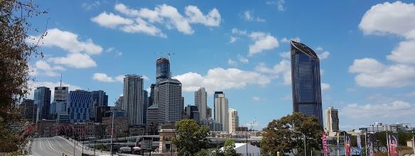 Brisbane in Spring. Image Credit: Brian MacNamara
