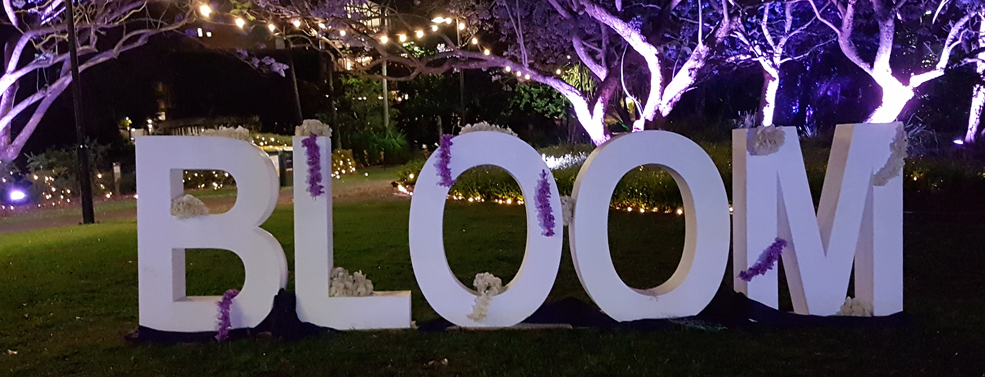 The University of Queensland Bloom Festival. Image Credit Brian MacNamara