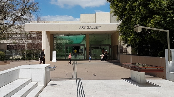 Queensland Art Gallery (QAG) Entrance. Image Credit: Brian MacNamara