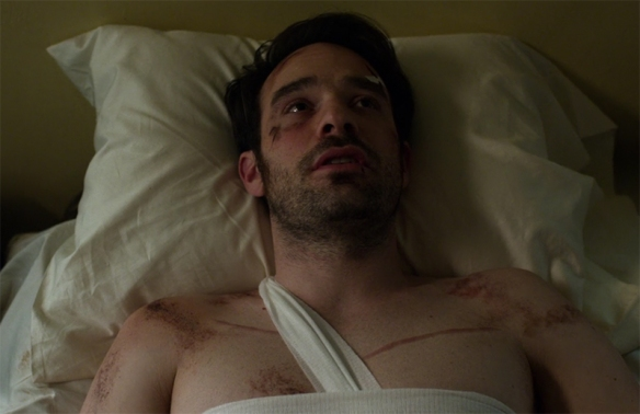 Some battles leave their scars Daredevil. Image Credit Marvel/Netflix