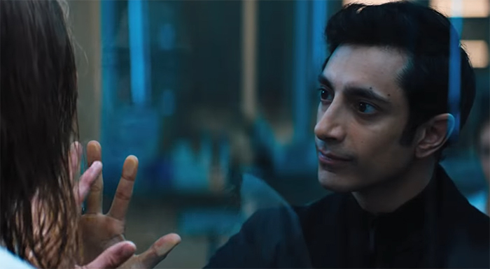 From ethics issues, to questionable theology, this might just be a generic bad guy, but Riz Ahmed gives him with a bit more character. Image Credit: Sony.