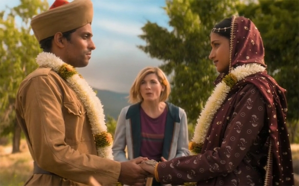 Doctor Who: Demons Of The Punjab. Image Credit: BBC