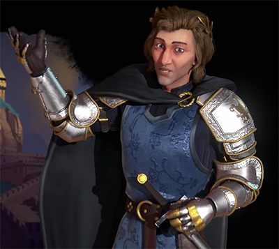 Matthias Corvinus in Civ 6. image Credit: Firaxis Games