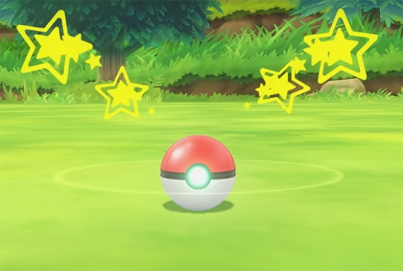It is the flow-on from the new Pokémon catching mechanic that holds the game back. Image Credit: Nintendo.