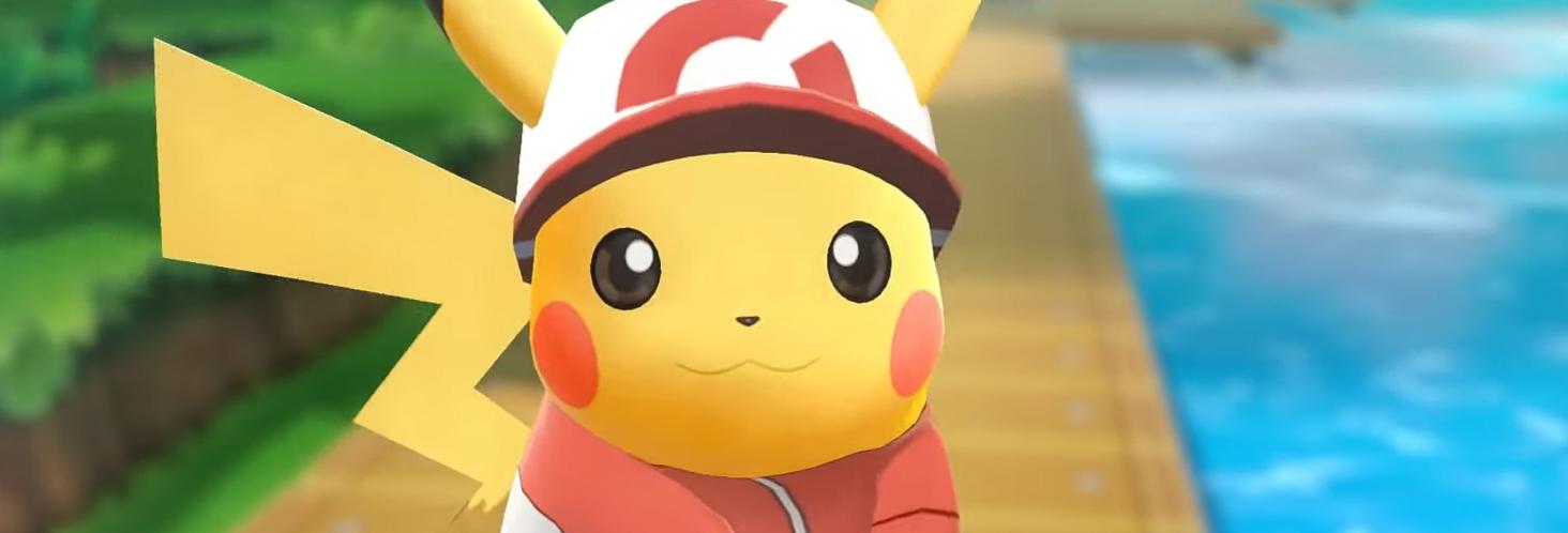 Let's Go Pikachu. Image Credit: Nintendo