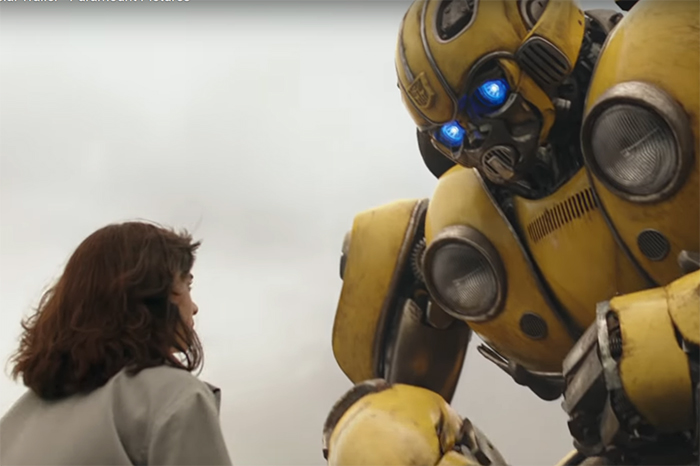 Bumblebee brings humanity and warmth to the series. Image Credit: Paramount