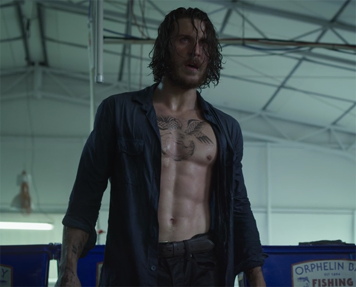 There are a lot of competing abs throughout Tidelands. Image Credit: Netflix