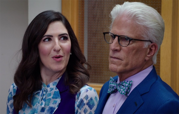 D'Arcy Carden shines while playing 6 different characters in the one episode. Image Credit: NBC