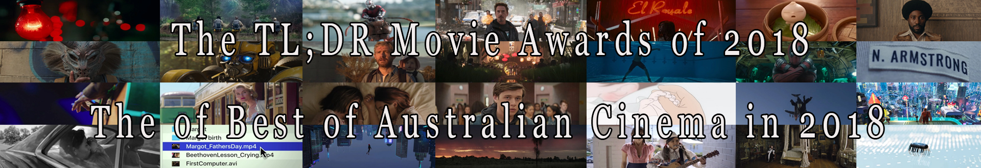 The of Best of Australian Cinema in 2018.
