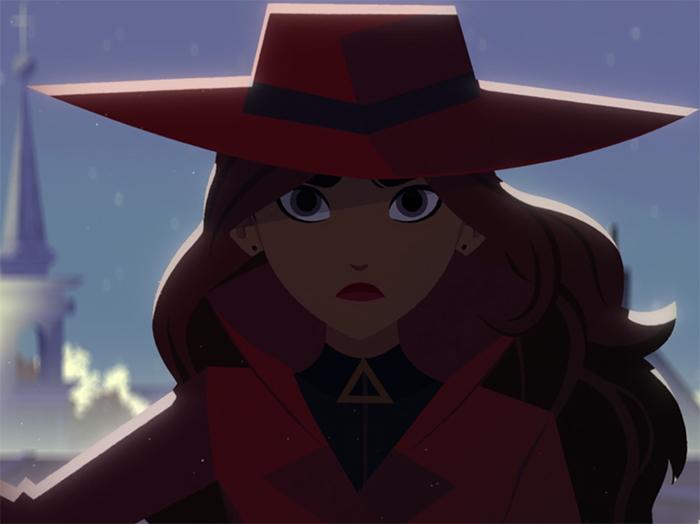 Carmen Sandiego: Season One. Image Credit: Netflix.