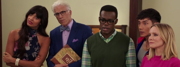 The Good Place: The Book of Dougs. Image Credit: NBC.