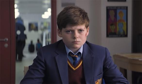El joven Alex como protagonista de 'El niño que pudo ser rey'