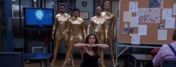 Brooklyn Nine-Nine: Four Movements. Image Credit: NBC.
