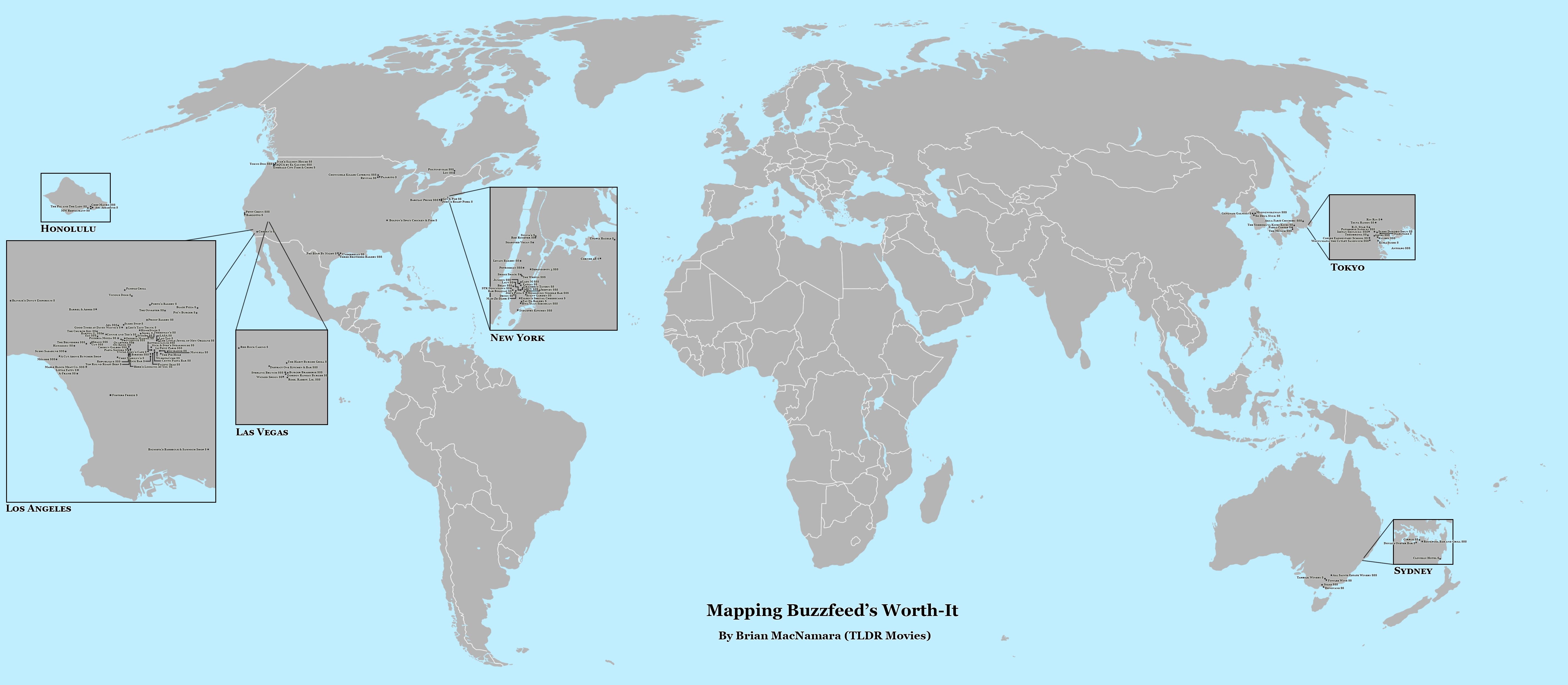 Full Globe Map of Worth-It. Image Credit: Brian MacNamara.