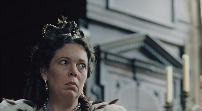 The Favourite. Image Credit: Fox Searchlight