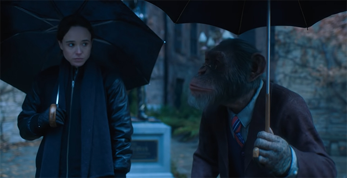 The Umbrella Academy. Image Credit: Netflix.