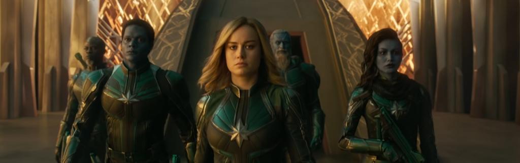 Captain Marvel. Image Credit: Marvel.