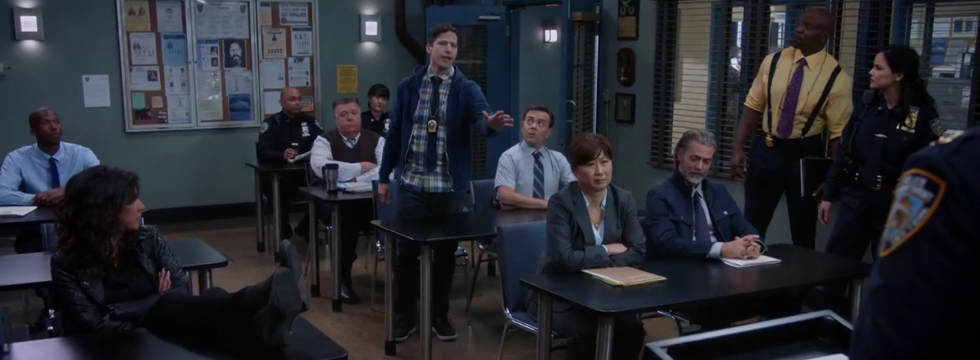 Brooklyn Nine-Nine: He Said, She Said. Image Credit: NBC.