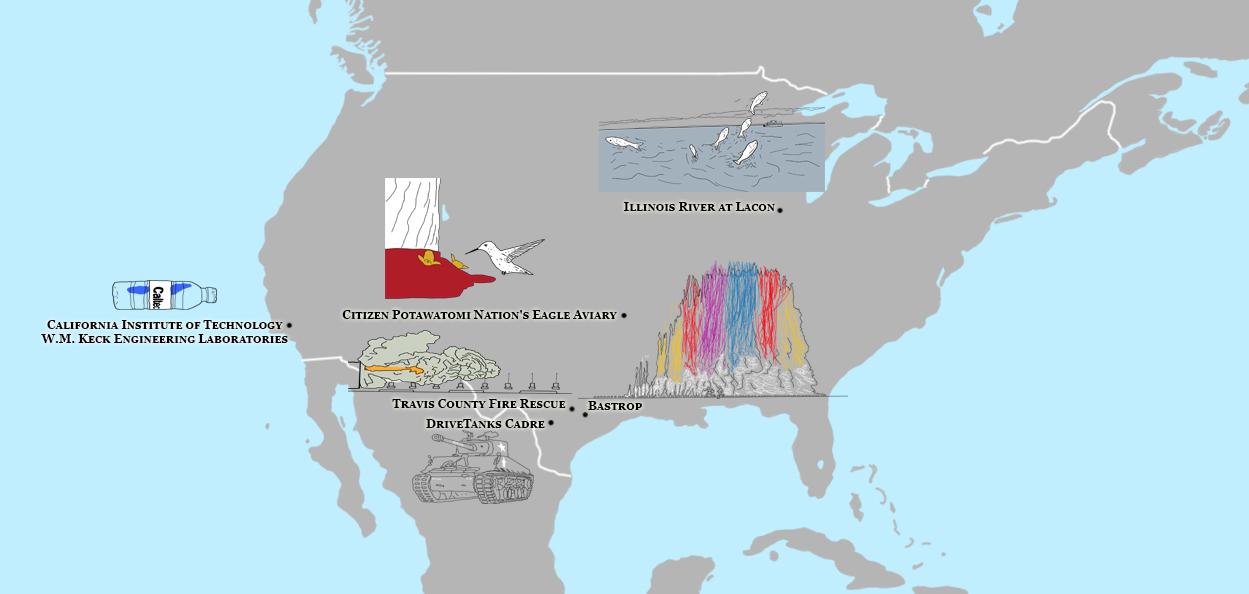 America Map of Planet Slow Mo. Image Credit: Brian MacNamara based of work by Gavin Free & Daniel Gruchy