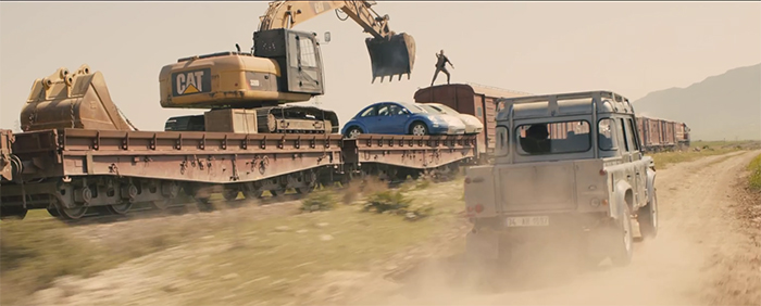 Train fight in Skyfall. Image Credit: MGM.