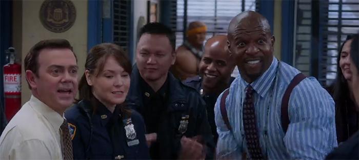 Brooklyn Nine-Nine: The Bimbo. Image Credit: NBC.