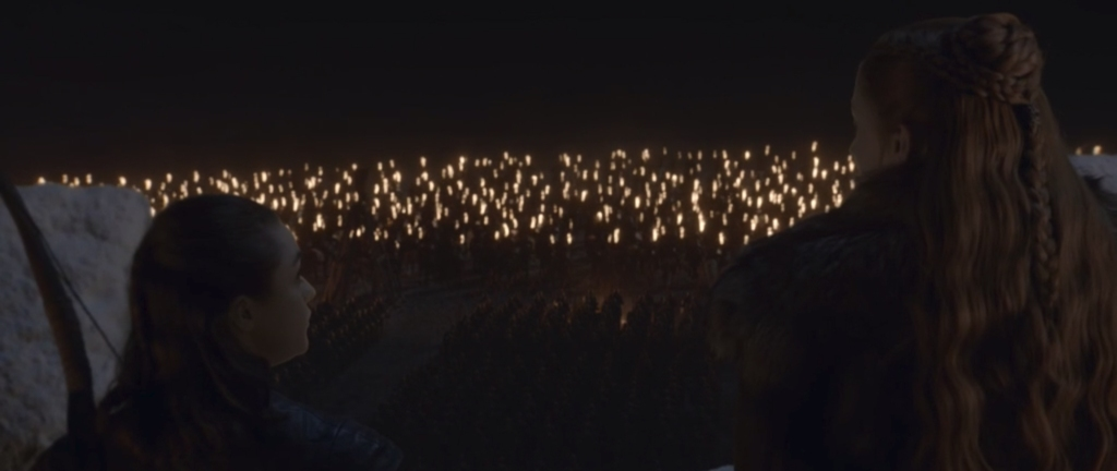 Game of Thrones: The Long Night. Image Credit: HBO.
