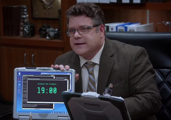 Brooklyn Nine-Nine: Ticking Clocks. Image Credit: NBC Studios.