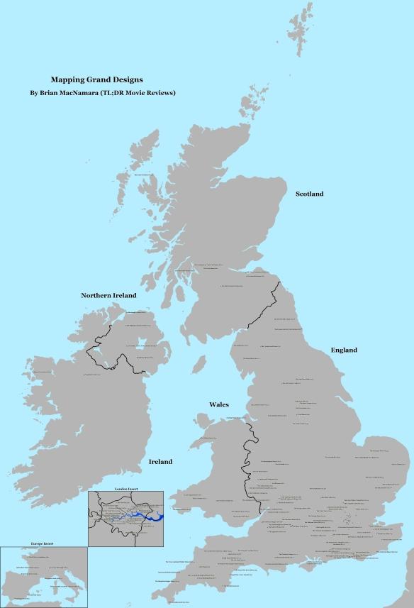 Full Grand Designs Map. Image Credit: Brian MacNamara