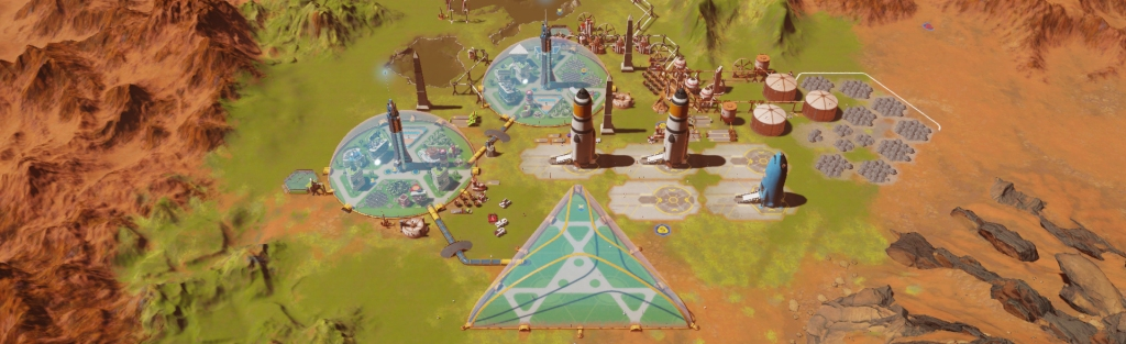 Surviving Mars: Green Planet. Image Credit: Paradox Interactive.