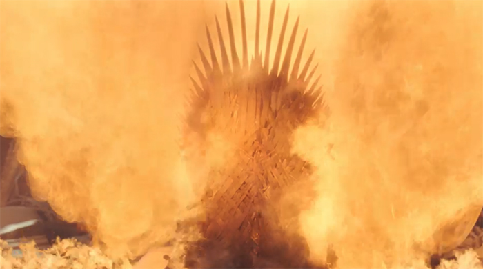Game of Thrones: The Iron Throne. Image Credit: HBO.
