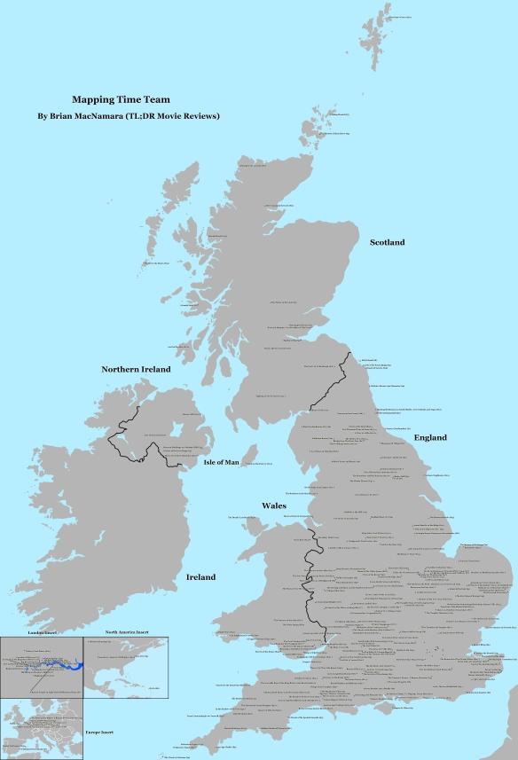 Full map of Time Team. Image Credit: Brian MacNamara.