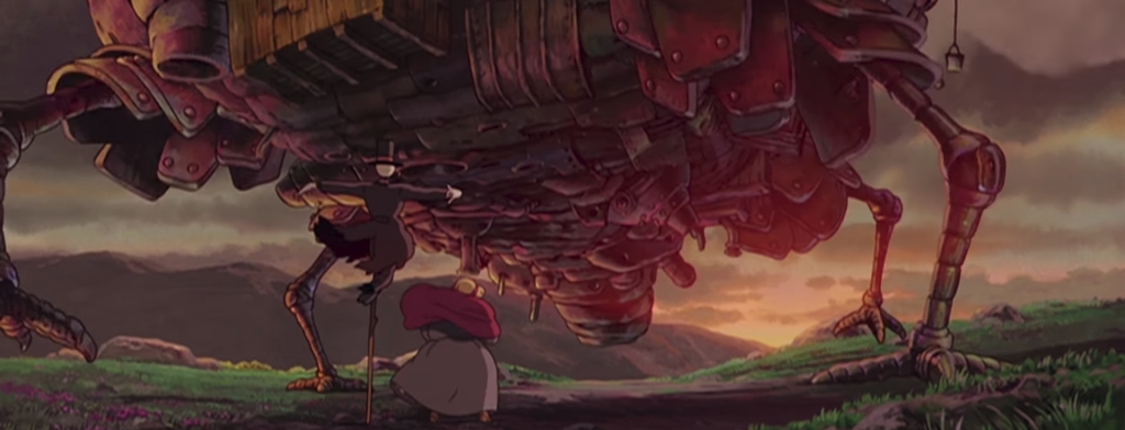 Howl's Moving Castle (ハウルの動く城). Image Credit: Studio Ghibli.