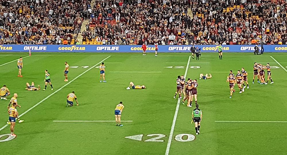 A Trip to the Footy to Watch the Brisbane Broncos take on the Parramatta Eels. Image Credit: Brian MacNamara.
